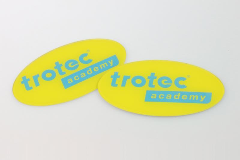 TroLase Reverse - transparent acryl for reverse engraving